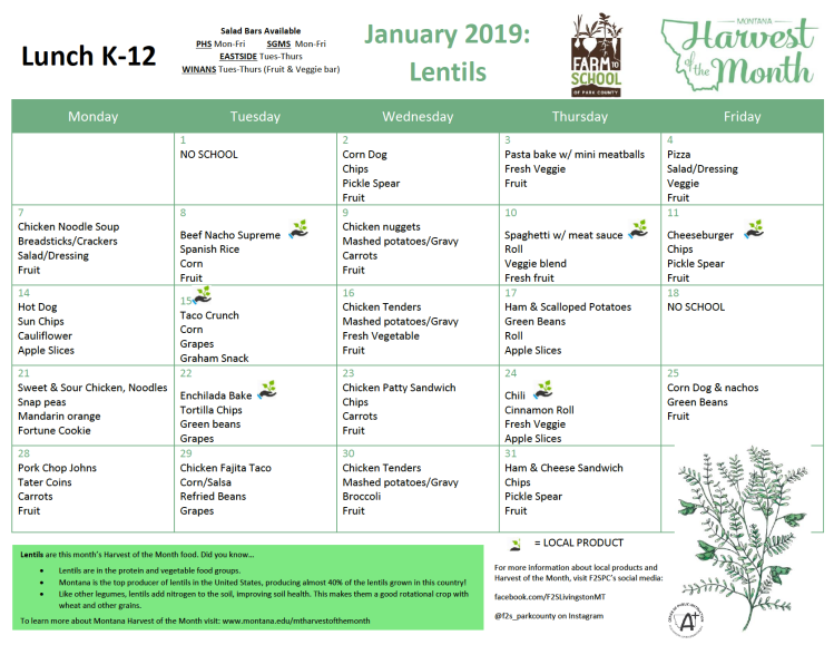 jan 2019 k-12 hom lunch menus